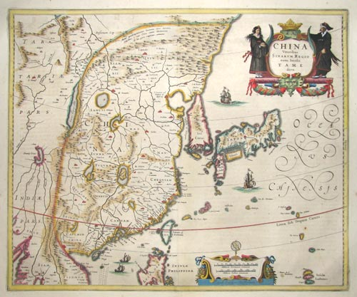 Early map of China