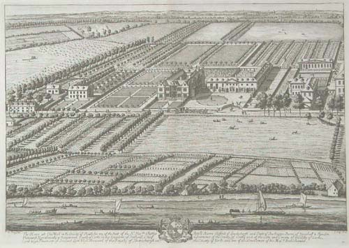 View of Chiswick House, London