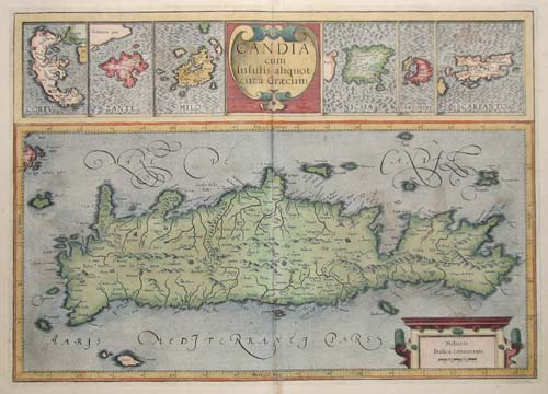 Maps of Crete and the Greek Islands