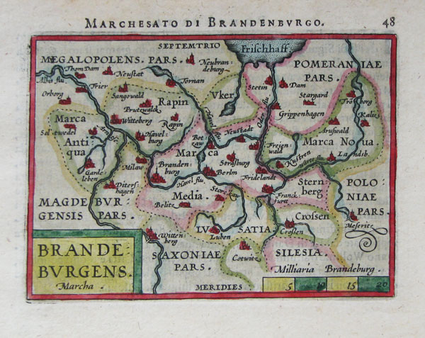 Miniature map of Brandenburg