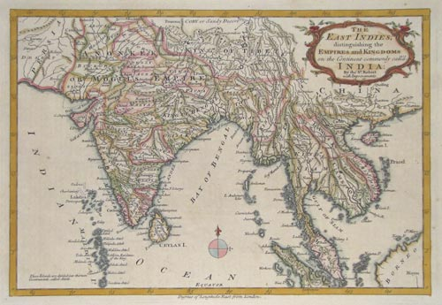 Map of the East Indies