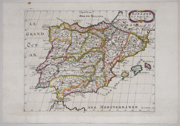 Map of Spain & Portugal