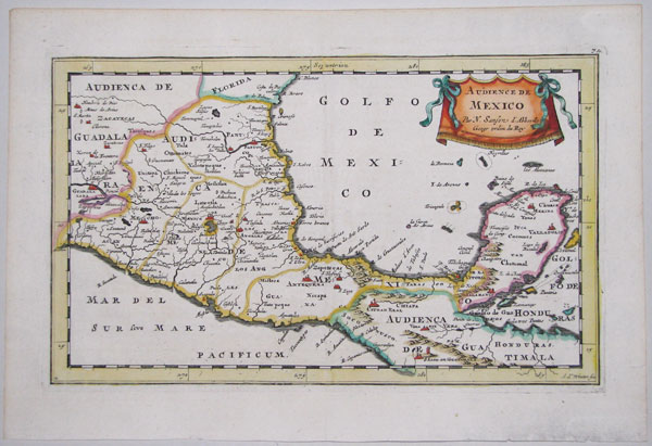 Map of southern Mexico