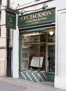 Lee Jackson'sshop in Covent Garden